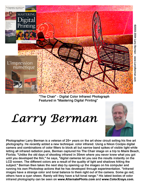 Larry Berman Artist Statement